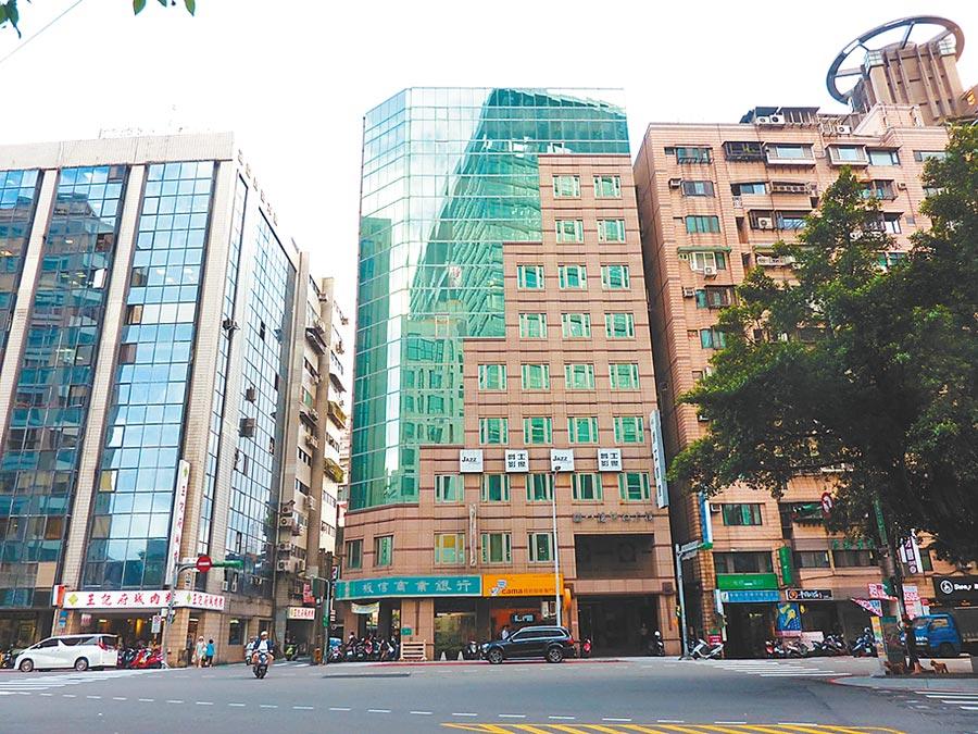PwC普華國際不動產標售台北市八德商辦大樓。圖/PwC普華國際不動產提供