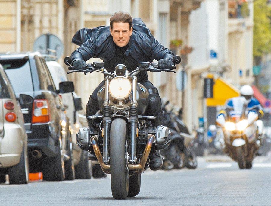 湯姆克魯斯待疫情和緩後,回義大利拍攝《不可能的任務7》。(美聯社)