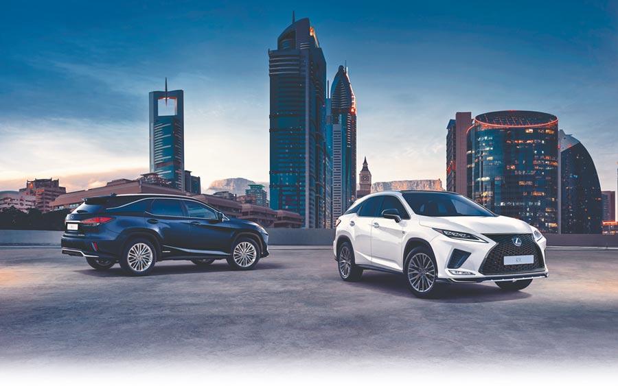 LEXUS全車系零利率,其中針對休旅霸主RX車系提供高達180萬60期零利率優惠。(和泰汽車提供)