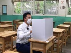 國中會考周末登場 新竹市長林智堅先探考場