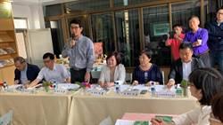 劉建國爭取整建華山遊客中心