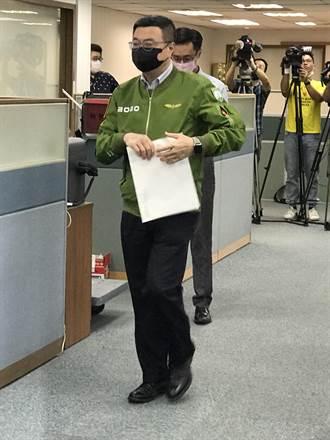 台北市黨部主委選舉互控 卓榮泰嘆了一口氣