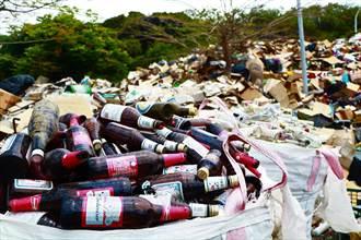 小琉球減塑有成卻「玻璃驚」 呼籲業者建立回收機制
