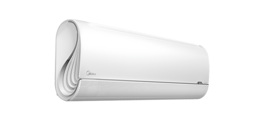 美的全新BreezeleSS+無風感空調,「有涼感、無風感」再也不怕冷氣病。(美的家電提供)