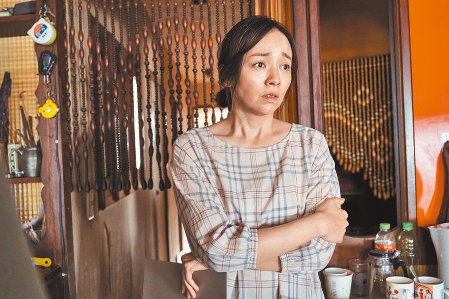 季芹在《誰是被害者》刻意扮老、扮醜,卻也讓觀眾看到她的好演技。(Netflix提供)