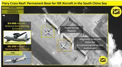 陸設防空識別區超前部屬 戰機進駐南海永署礁首曝光