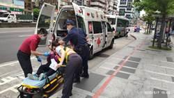 女服藥後暈眩昏倒3次  捷警視訊救護APP協助送醫