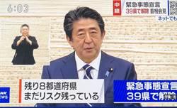 日本正式解除39縣的緊急事態宣言  東京、大阪等8道府縣仍維持