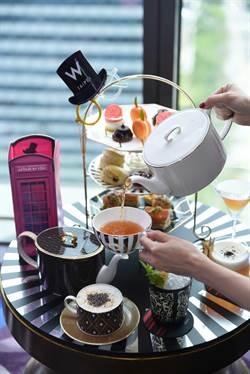 頂級餐瓷攜手飯店 打造聯名午茶
