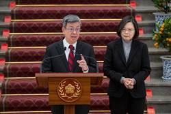 陳建仁卸任 蔡英文:最忙碌的副總統