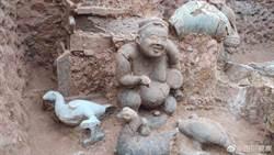震撼考古界!四川成都發現6000座古墓群