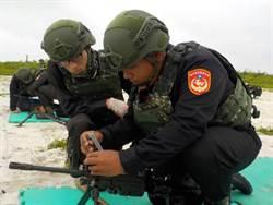 防制大陸奪島軍演 海軍陸戰隊重回東沙島訓練別苗頭