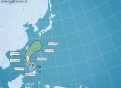 黃蜂周末外圍環流威脅不排除發布海警 下周全台有雨
