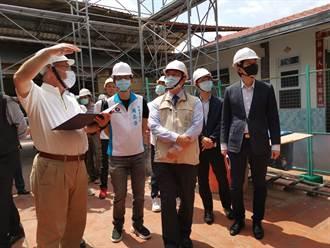 0206地震嚴重受損 楠西重要景點江家古厝修繕拚10月完工