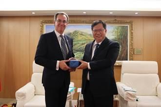 瑞典台北辦事處代表訪桃園讚台灣安全