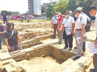 赤崁園區遺構 見證歷史堆疊