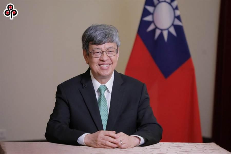 前副總統陳建仁表示,家戶準備3個月的口罩量,是可行的。(圖/本報資料照)