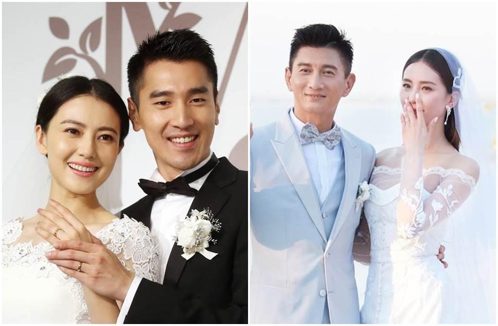 劉詩詩和高圓圓接連升格人妻,成為台灣媳婦。(圖/中時資料照)