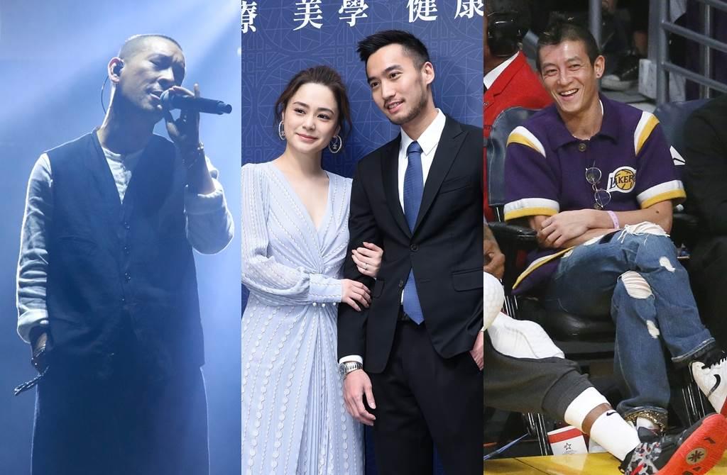 麥浚龍、阿嬌、賴弘國、陳冠希的感情觀各有支持者。(圖/達志影像)