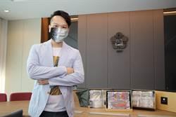 防疫也很時尚 成大卓彥廷設計時尚防疫口罩套