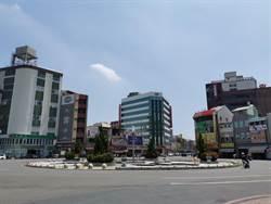 新營火車站圓環周邊道路 18日起進行路平改善工程
