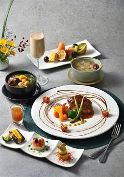「寬心園」端出猴菇與天貝料理  兼具健康與美味