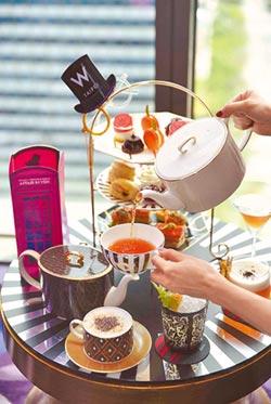 頂級餐瓷攜手飯店 英式午茶饗宴