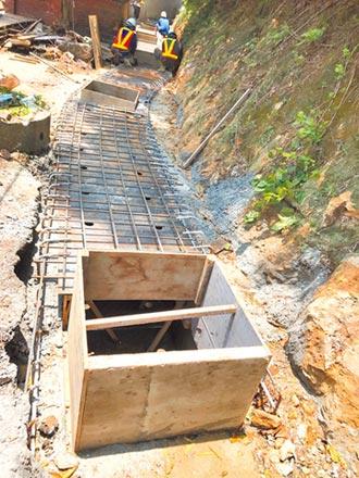 汐止翠峰街排水工程 20日完工