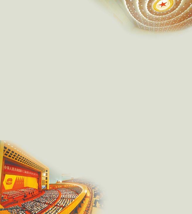 第十三屆大陸「兩會」。(中新社資料照片)