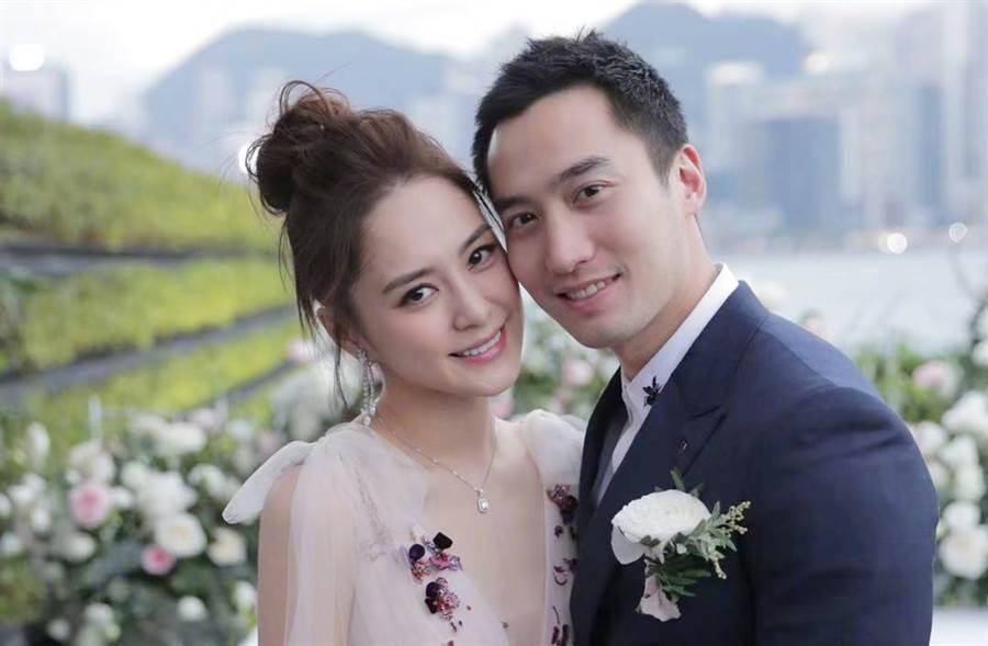 阿嬌、賴弘國14月短命婚告終。(圖/翻攝自鍾欣潼微博)
