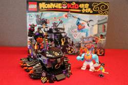 搶先開箱》LEGO悟空小俠系列80007牛魔暗黑戰車