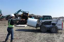 雲林縣陳年垃圾8萬公噸全打包
