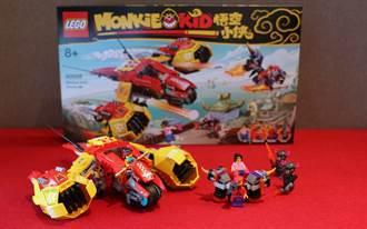 搶先開箱》LEGO悟空小俠系列80008悟空小俠雲霄戰機