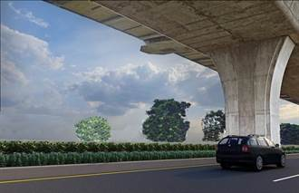 大里聯絡平面道路增設3開口  未來通行更便利