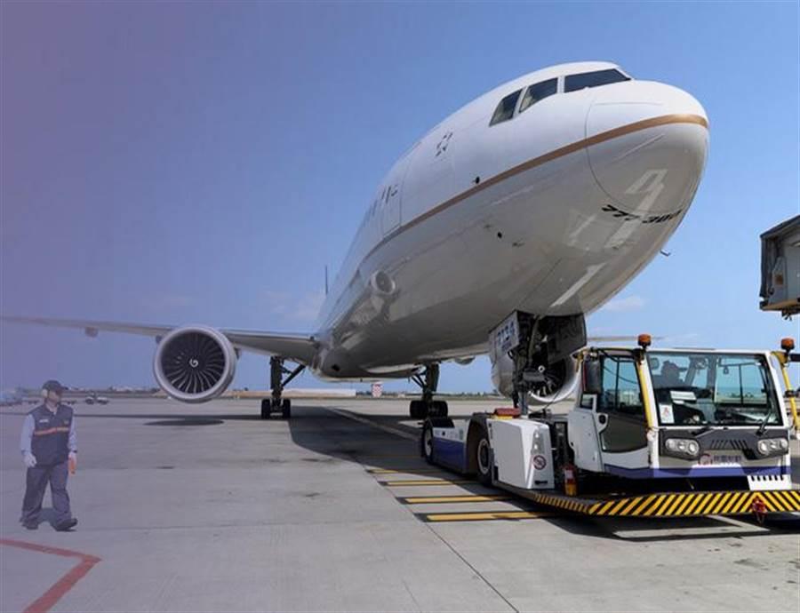 桃勤提供的機坪服務。(圖/取自桃勤網站)
