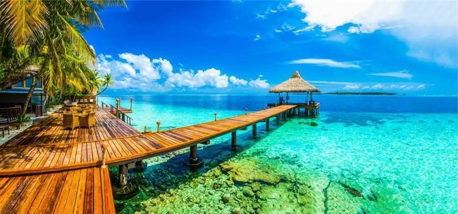 滯留馬爾地夫的36名國人將於今晚抵台。(取自Shutterstock)
