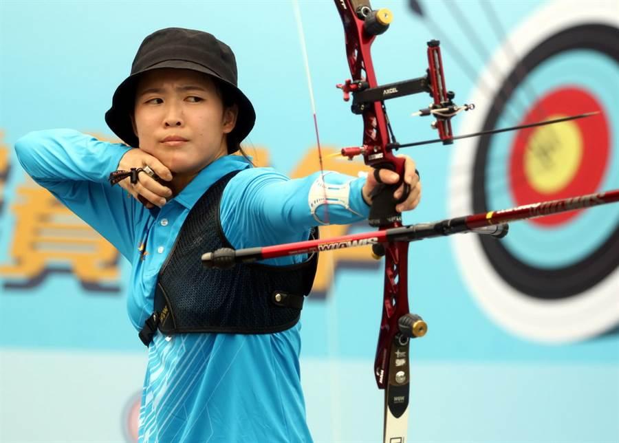 彭家楙重新燃起入選中華隊國手的希望。(中華企業射箭聯盟提供)