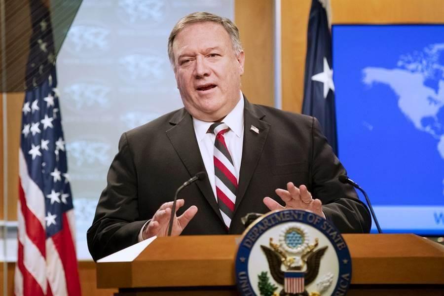 美國務卿蓬佩奧表示,台積電強化美台關係,能助美與中爭奪高科技主導權。資料照/美聯社。