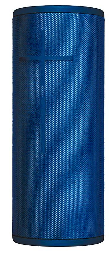 新光三越台北信義新天地A9法雅客UE BOOM 3藍牙喇叭,有藍色,另有黑、綠、紫、紅、粉色,4990元。(新光三越提供)