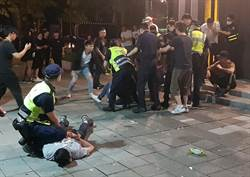 疫情趨緩 台北市信義區夜店現人潮 一夜發生多起酒客鬧事