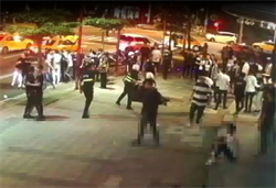 9天0確診太high 信義區夜店凌晨連3起鬥毆警強力壓制