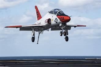 美國海軍尋求新教練機 取代T-45