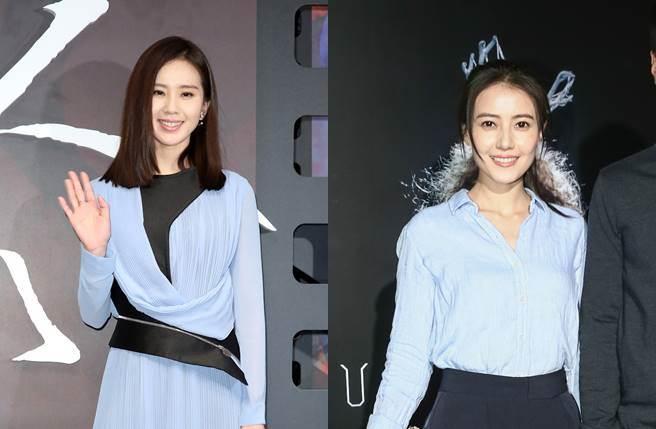劉詩詩和高圓圓都是最佳台灣媳婦的代表。(圖/本報系資料照片)