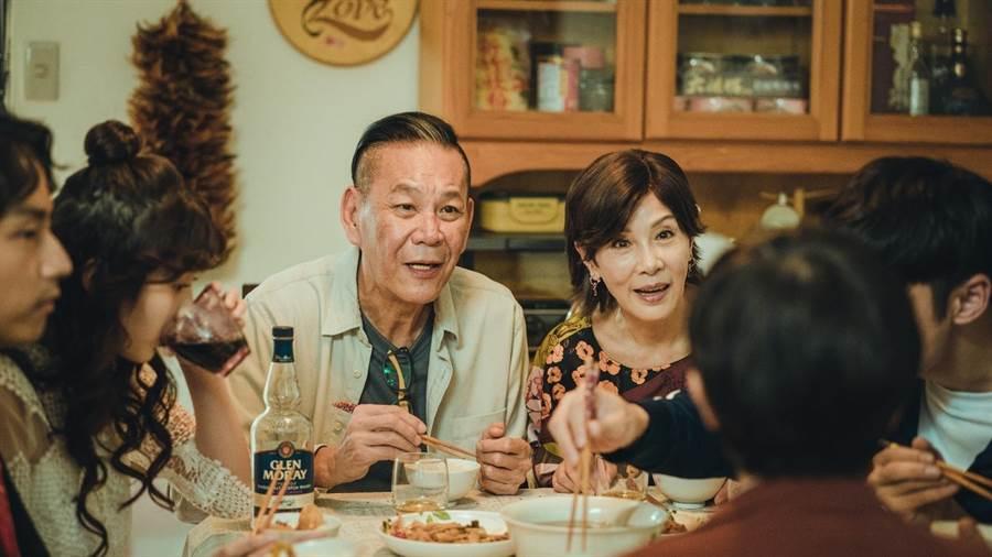 林秀君與龍劭華在《若是一個人》演夫妻。(華視提供)
