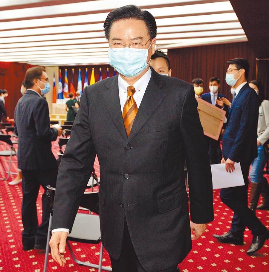 外交部長吳釗燮接受《華盛頓郵報》訪問時稱,為促進台灣參加WHA,台灣官員展開最緊密的官方接觸,台外交局勢也因防疫成功,有了許多新朋友、新夥伴和新契機專訪。(本報資料照片)