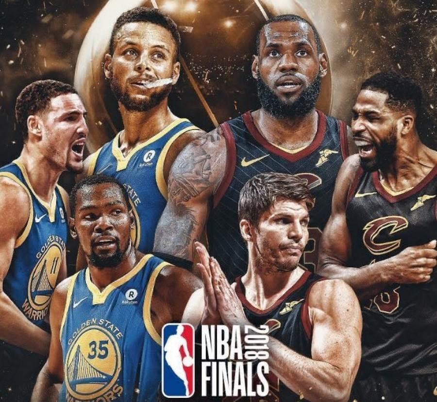 勇士在2018年總冠軍賽以4勝0敗橫掃騎士摘冠。(取自NBA Central官推)