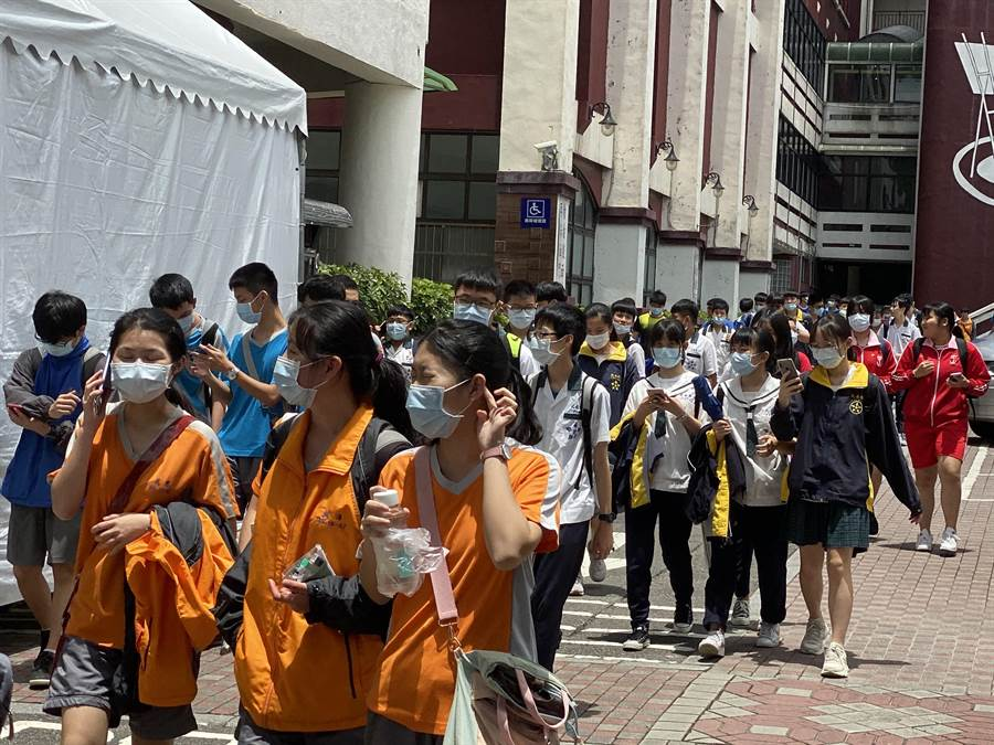 國中會考成績單預計6月5日寄發,7、8日申請複查。(基隆市府提供/許家寧基隆傳真)