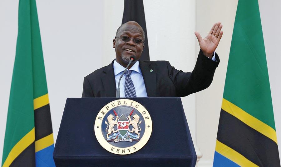 坦尚尼亞總統馬格富尼圖╱路透