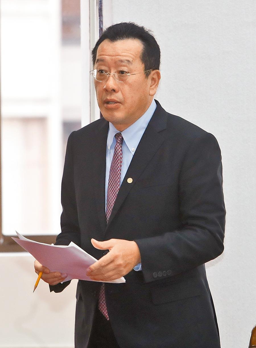 金管會主委顧立雄 (本報資料照片)