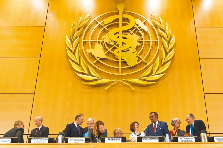 大陸曾要求各國共同連署致函世衛組織(WHO)祕書長譚德塞,敦促他遵循一個中國原則,在WHA大會上不要提及讓台參與之事。(美聯社)